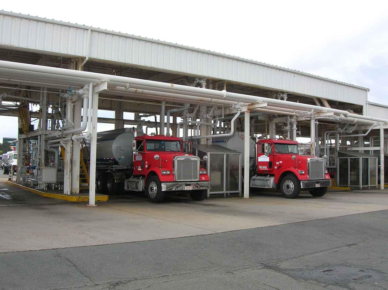 Bulk Gasoline Offloading Terminal