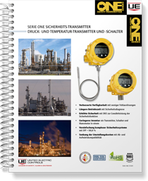 Serie One Sicherheits-Transmitter Druck- und Temperatur-Transmitter und -Schalter (German)