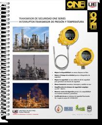 Transmisor de Seguridad One Series Interruptor-Transmisor de Presión y Temperatura (Spanish)