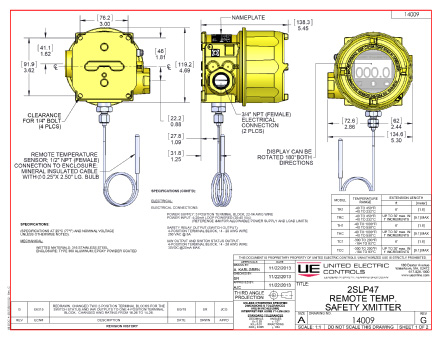 UE Controls Safety Transmitter diagram