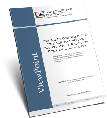 Consider Certified SIL Devices to Improve Safety While Reducing Cost of Compliance