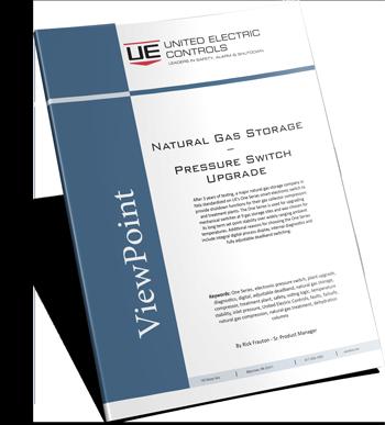 Natural Gas Storage – Pressure Switch Upgrade