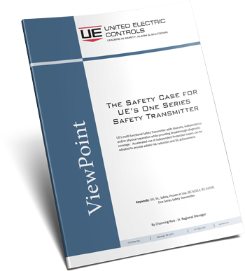 The Safety Case for UE's One Series Safety Transmitter