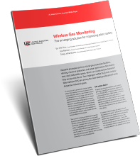 Wireless gas monitoring: the emerging solution for improving plant safety