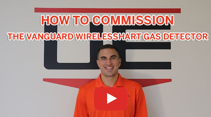 How to Commission the Vanguard WirelessHART Gas Detector