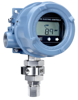 Solution: One Series 1X Monitoring pressure on pumps and pipelines