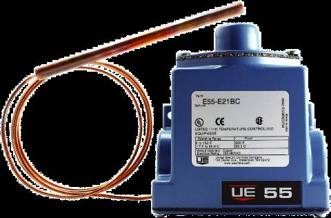 United Electric E54-D22BC  Range 50-300 Degrees Temp Controller